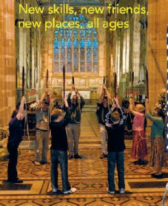 new to bellringing